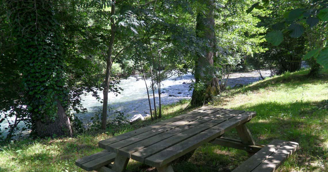Accès direct à la rivière